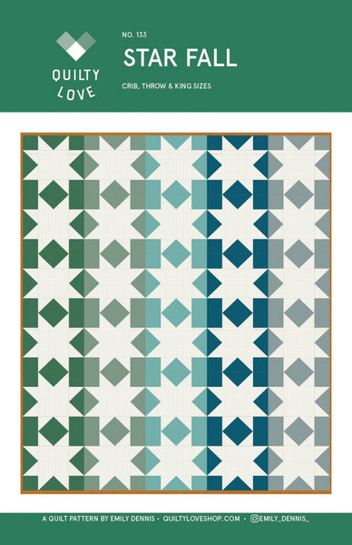Emily Dennis - Star Fall Quilt Pattern