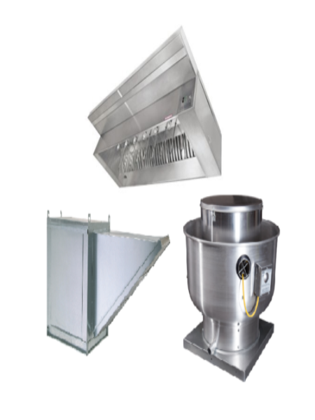 NEW - Captive Aire 8' Exhaust Vent Hood Package with Exhaust and Return Air Fans -Used Restaurant Equipment  COOKING - Refrigeration, Cooking Equipment  CAPTIVE AIRE Tyler TX  RecycleAsylum Recycle Asylum