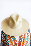 ARDEN DUO WEAVE PANAMA HAT IN NEUTRAL