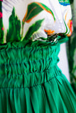 FAYE PLEATED SKIRT IN EMERALD