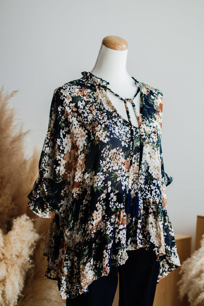 OLIVIA LIGHT FLORAL BLOUSE