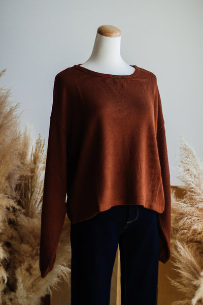 JADA THERMAL TOP IN HAZELNUT