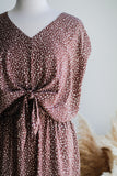 MAREN ANIMAL PRINT JUMPSUIT IN MAUVE