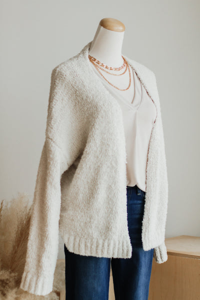 CARLY CARDIGAN IN IVORY
