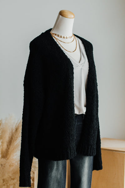 CARLY CARDIGAN IN BLACK