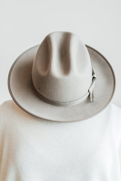 LUCCA FEDORA IN TAUPE