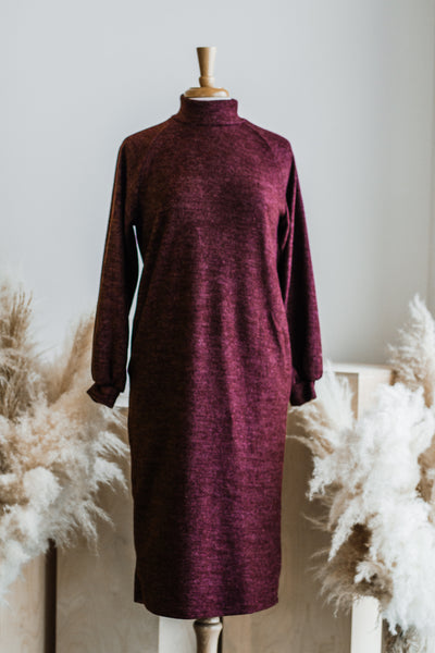 MARE BERRY COZY KNIT DRESS