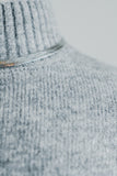 JUST NOVEMBER SWEATER IN HEATHER GREY