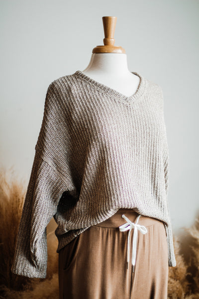 ST LOUIS PARK SWEATER IN OATMEAL