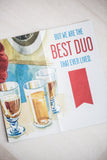 BEST DUO GREETING CARD