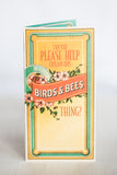 BIRDS & BEES GREETING CARD