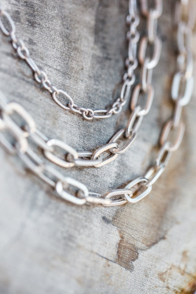 YARA LAYER NECKLACE IN SILVER