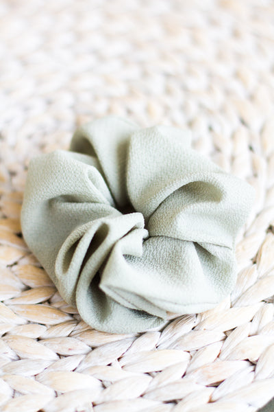 SEAFOAM HAIR SCRUNCHIE