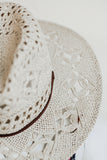 CARTER ELABORATE PANAMA HAT IN NATURAL
