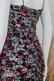 BLOOM FLORAL BODYCON MINI DRESS