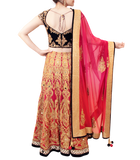 SHADED PINK BRIDAL LEHENGA