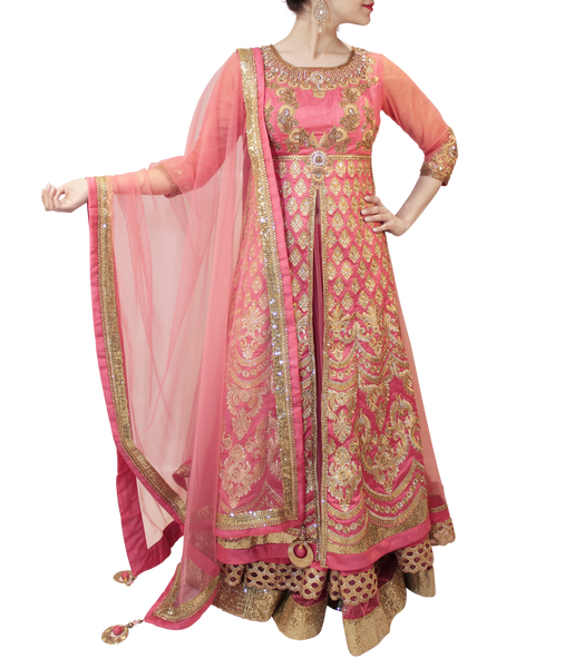 ROSE PINK LACHA STYLE