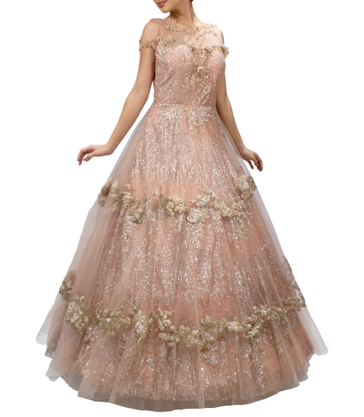 Blush Pink Bucket Gown