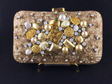 Fancy Sequence and beaded clutch
