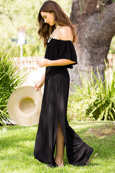Sassy Sundress in Black