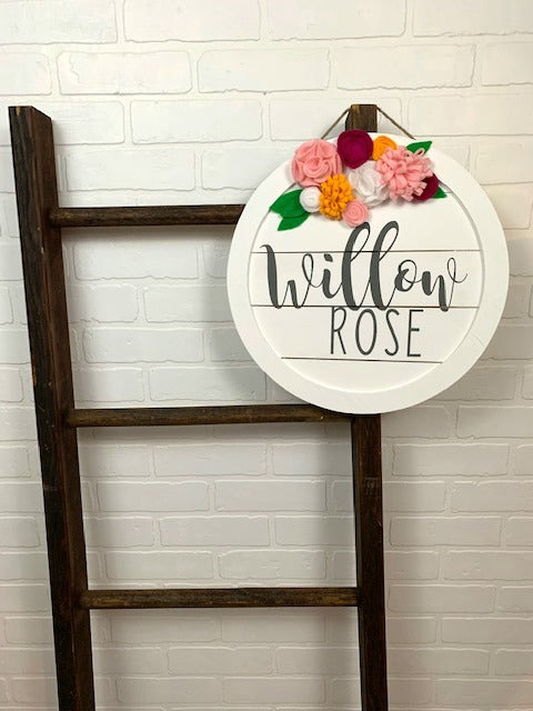 "15"" Custom Name Sign"