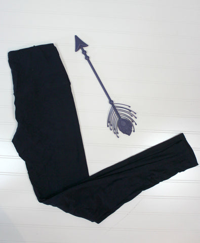 High Waisted Miracle Legging in Black