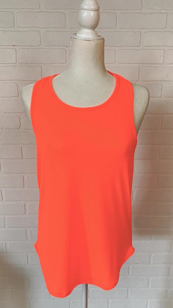 Chelsie Tank with Back Twist Detail