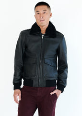 DAX Shearling Collar | Black