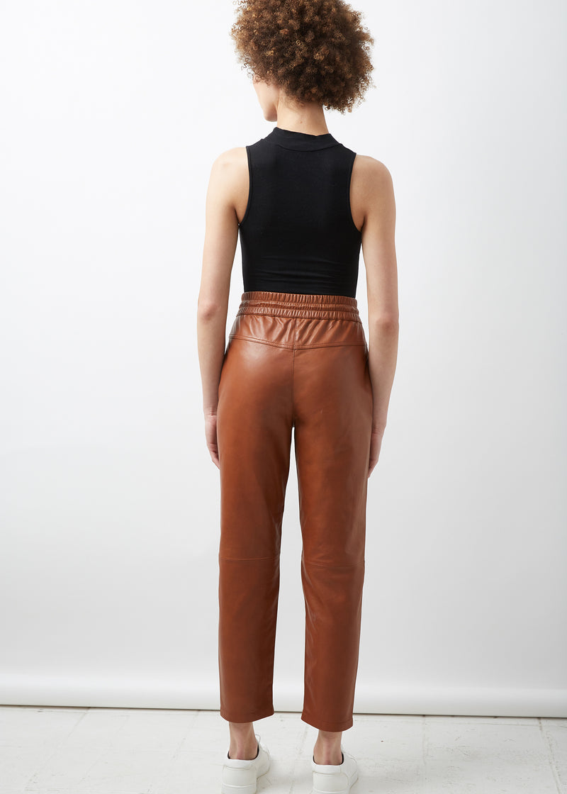 AMA Slim Fit Jogger | Tobacco