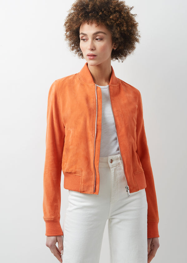 MIN Slim Bomber | Sunset Orange