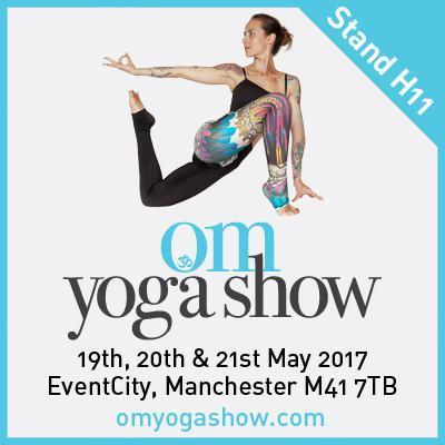 Who's coming to the Om Yoga Show in Manchester?