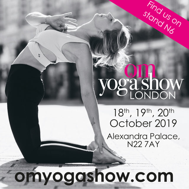 Blossom Yoga Wear At the Om Yoga Show London 2019 Stand N6