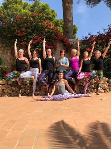 Blossom Yoga Wear Yoga Retreat for like minded yogis