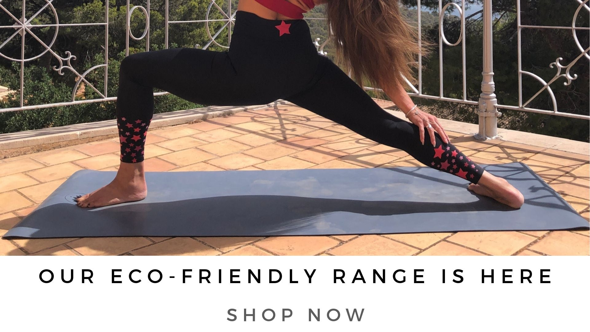 Blossom Yoga Wear. Women's Eco friendly Yoga and fitness wear brand specialising in high waist yoga pants and active leggings
