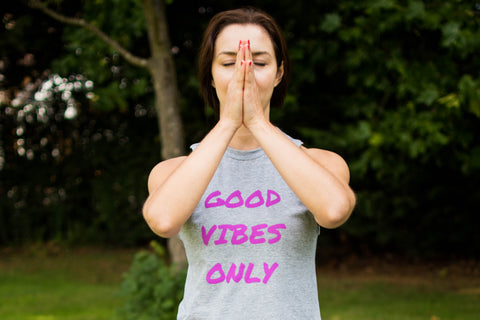 Mediation practice in Good Vibes Only top