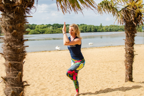 Blossom Yoga Wear - womens gym wear and yoga clothes. High waisted Yoga pants and gym leggings