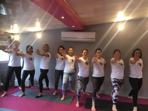 Blossom Yoga Wear Yoga Stops Traffick Charity T Shirt