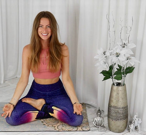 Blossom Yoga Wear Home Yoga Practice