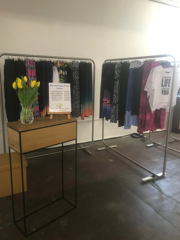 Blossom Yoga Wear Pop Up Shop at Your Wellness Event or yoga retreat