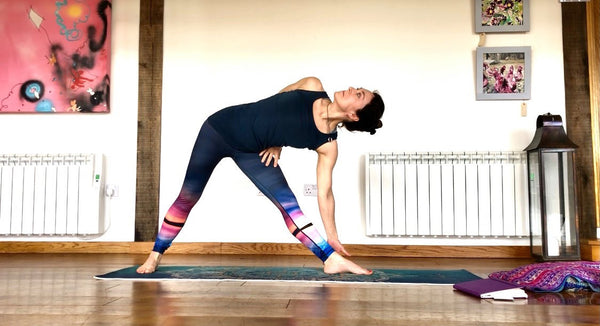 Caelia Butcher Yoga Teacher and Blossom Yoga Wear Brand Ambassador