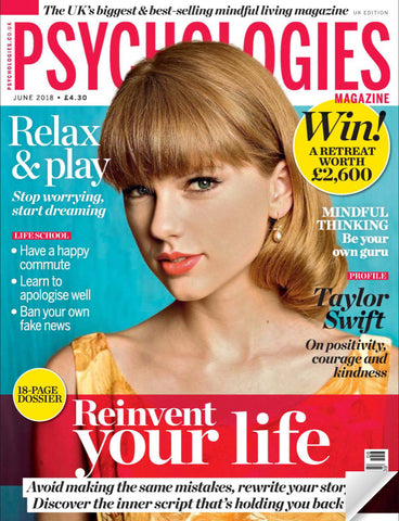 Psychologies Magazine June 2018 Featuring Blossom Yoga Wear