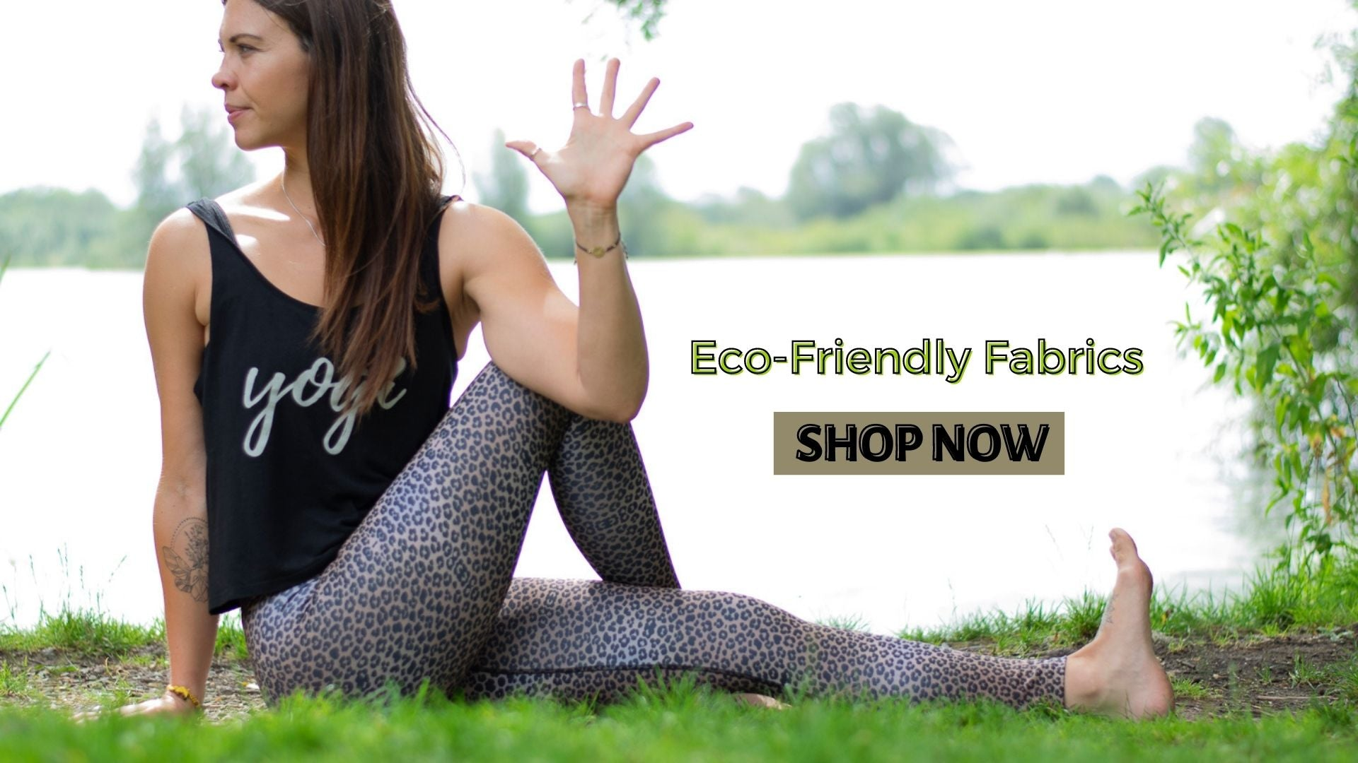 Blossom Yoga Wear Sustainable activewear and eco friendly yoga pants