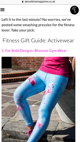about time magazine top 10 gifts for a fitness lover