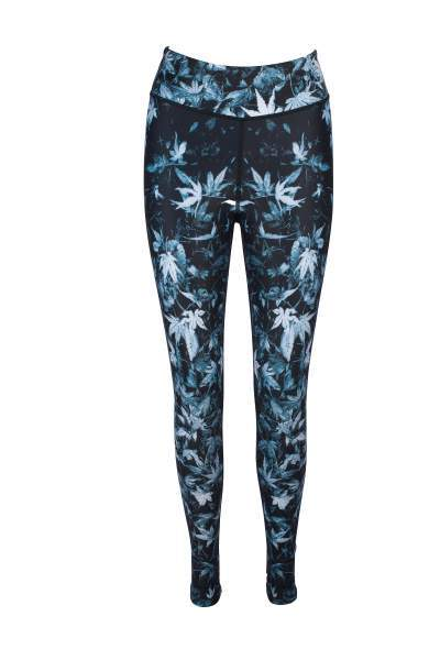 Acer Love High Waisted Printed Yoga Pants - Blossom Yoga Wear