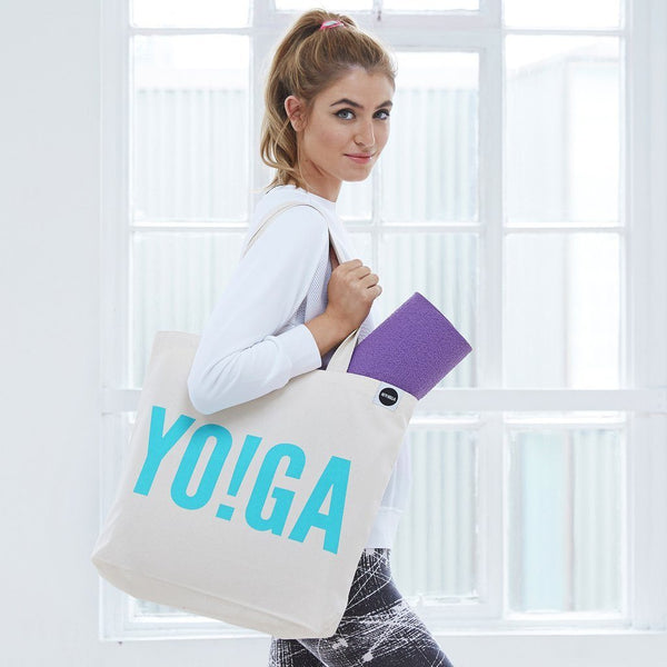 HEY! HOLLA YOGA Tote Bag
