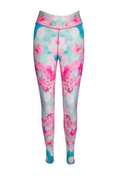 Blooming Marvellous High Waisted Printed Yoga Pants - Blossom Yoga Wear