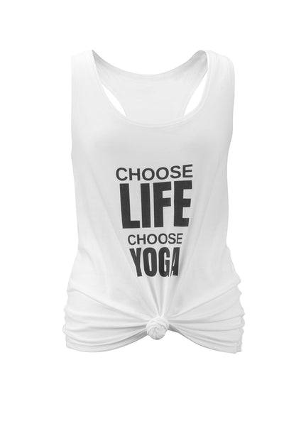 Choose Life Slouchy Vest Top