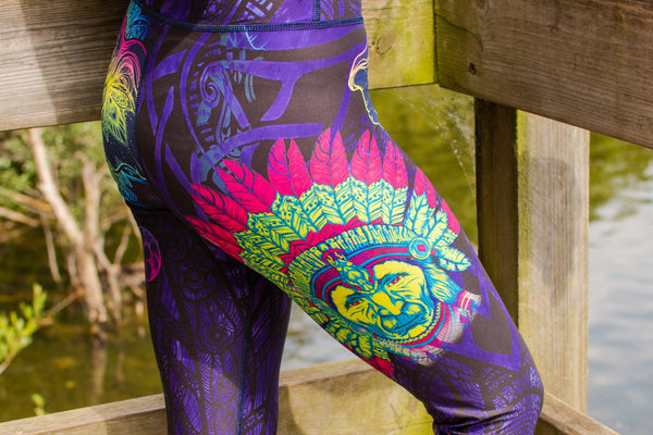 Elephantastic Printed Yoga Pants