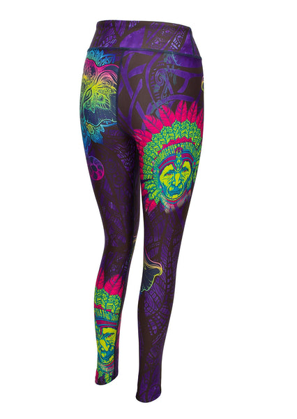 Elephantastic Printed Yoga Pants - Blossom Yoga Wear
