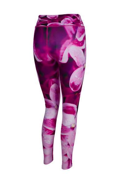 I've Got The Flower High Waisted Printed Yoga Pants